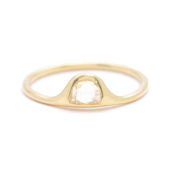 deimos half moon ring