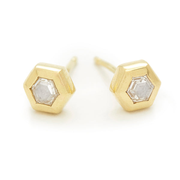 hexagon essential studs