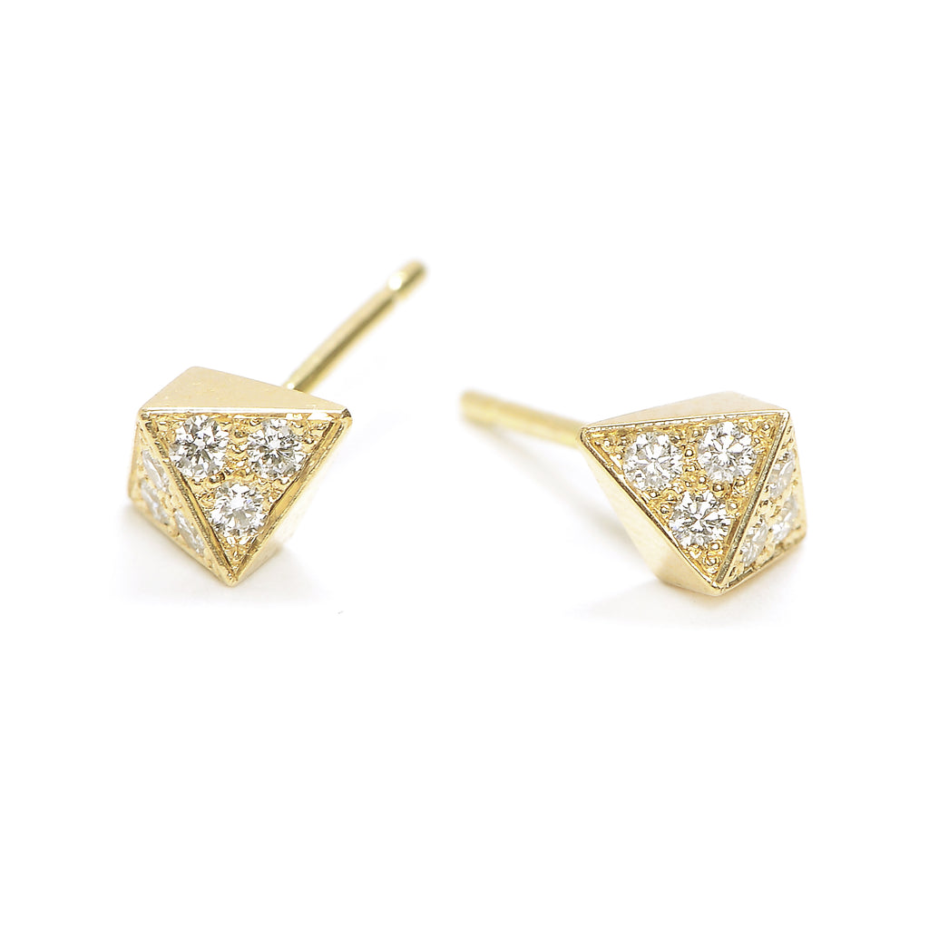 double pointed pavé studs