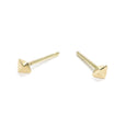 tiny double pointed studs