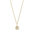 pear diamond shape necklace