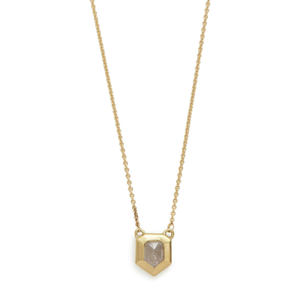 stormy diamond shape necklace #4