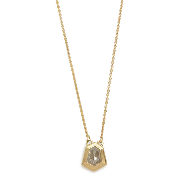 stormy diamond shape necklace #3