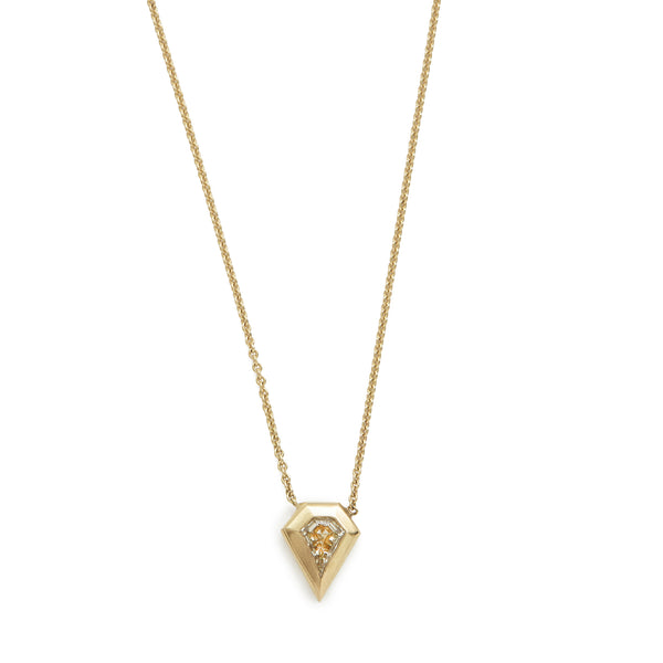 kite diamond shape necklace