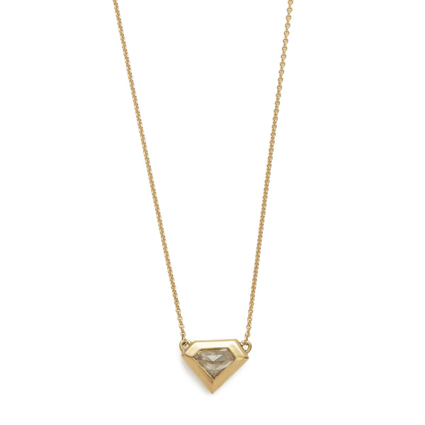 stormy diamond shape necklace #6