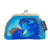 Laurel Burch Teal Mare Coin Purse
