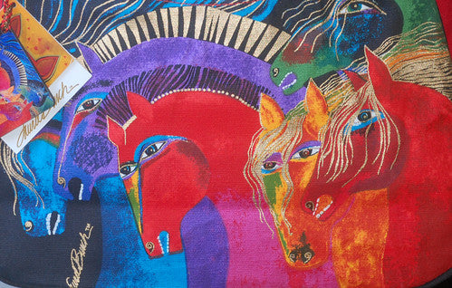 Laurel Burch Wild Horses of Fire Hobo Bag