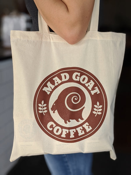 Mad Goat Tote Bag