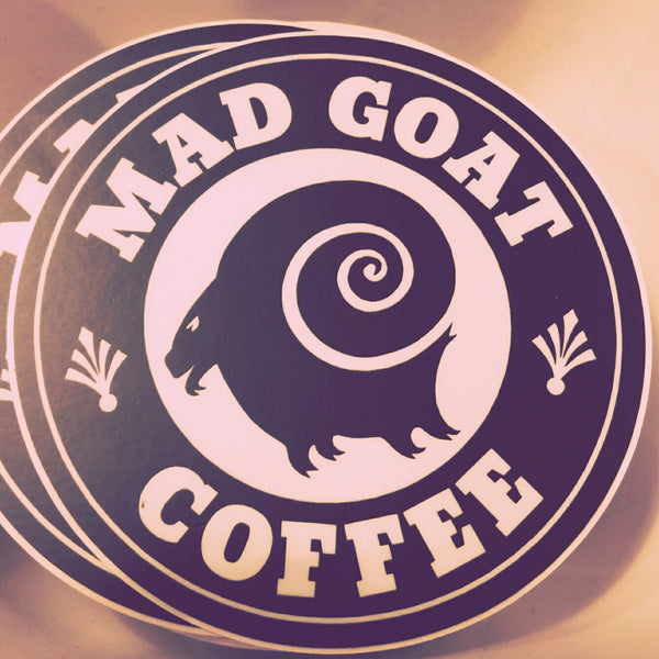 Mad Goat Logo Sticker