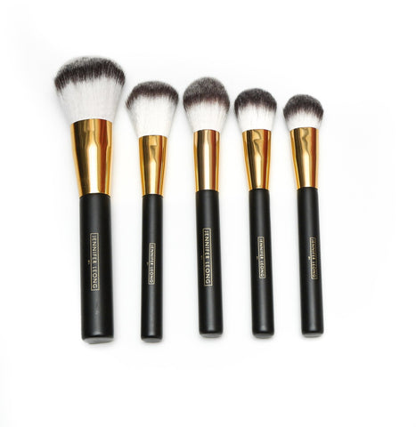 Luxe Black & Gold Brush Set