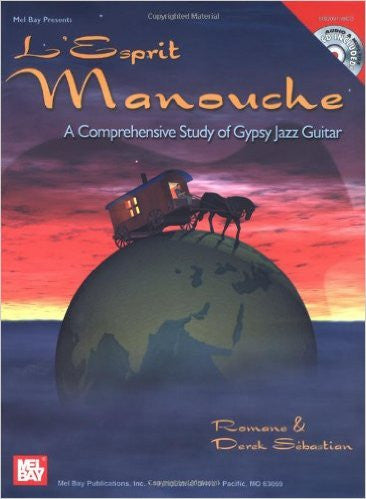 L'Esprit Manouche A Comprehensive Study of Gypsy Jazz Guitar Book CD Set