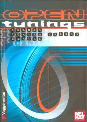 Open Tunings for Guitar Book