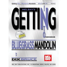 Getting Into Bluegrass Mandolin Book and CD Set