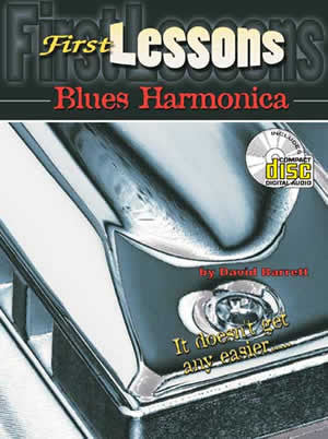 First Lessons Blues Harmonica Book CD Set