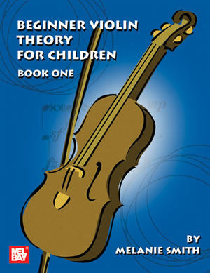 Beginner Violin Theory For Children Book One
