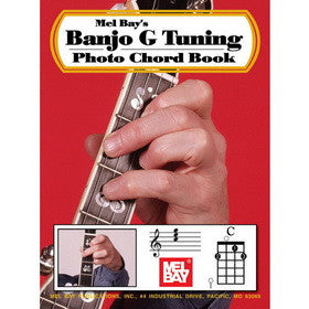 Banjo G Tuning Photo Chord Book