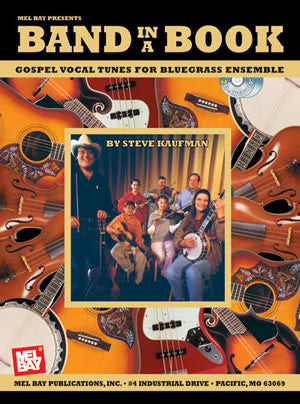 Band In A Book Gospel Vocal Tunes for Bluegrass Ensemble Book CD Set