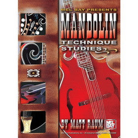 Mandolin Technique Studies Book