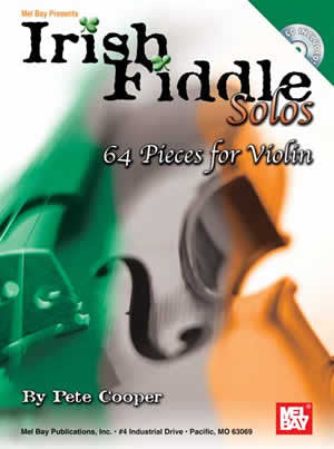 Irish Fiddle Solos 64 Pieces for Violin Book CD Set