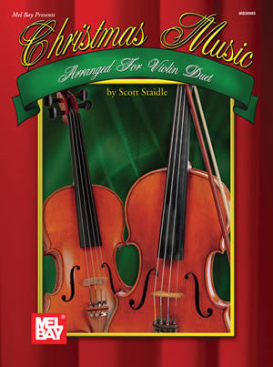 Christmas Music Arranged for Violin Duet Book