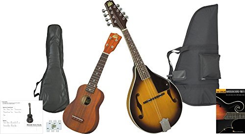 Rogue Mandolin And Ukulele Package