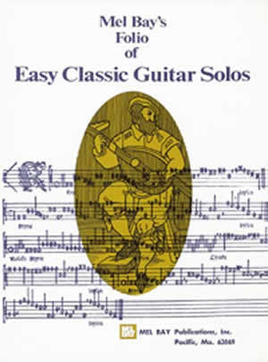 Easy Classic Guitar Solos Book