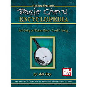 Banjo Chord Encyclopedia for 5-String or Plectrum Banjo