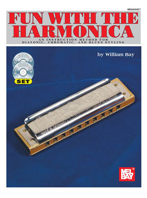 Fun with the Harmonica Book CD DVD Set
