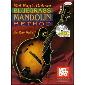 Deluxe Bluegrass Mandolin Method Book CD Set