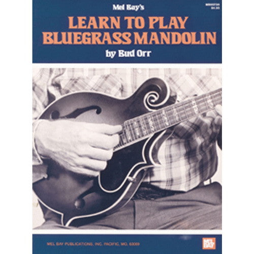 Learn To Play Bluegrass Mandolin Book and DVD Set