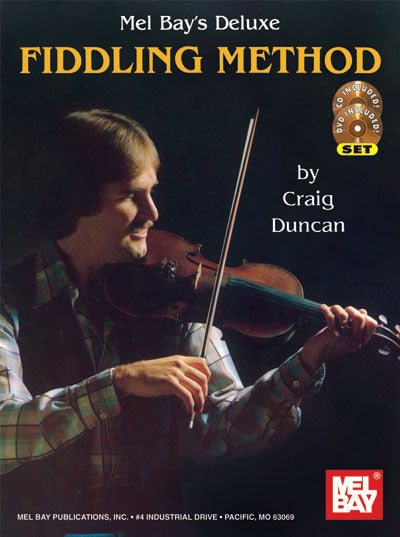 Deluxe Fiddling Method Book CD DVD