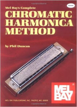 Complete Chromatic Harmonica Method Book