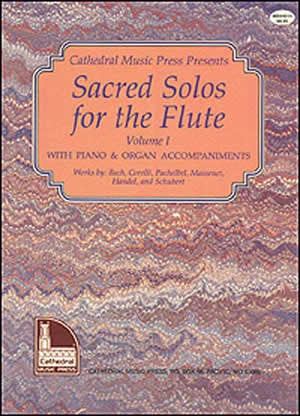 Sacred Solos for the Flute Volume 1 Book CD Set