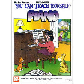 You Can Teach Yourself Piano Book CD Set