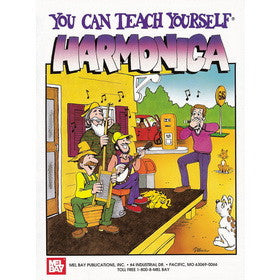 You Can Teach Yourself Harmonica Book