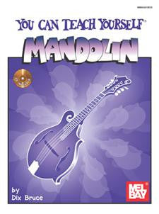 You Can Teach Yourself Mandolin Book and CD Set