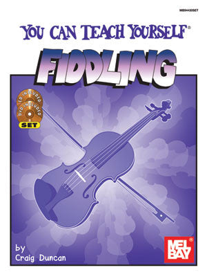 You Can Teach Yourself Fiddling Book CD DVD Set