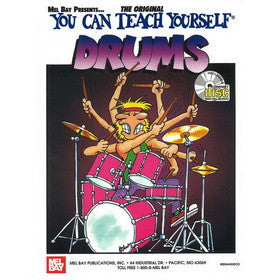 You Can Teach Yourself Drums Book CD Set