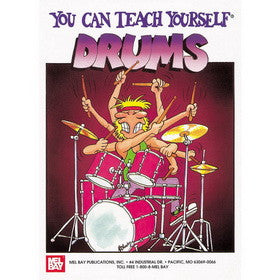You Can Teach Yourself Drums Book
