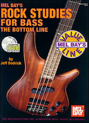 Rock Studies for Bass Book CD Set