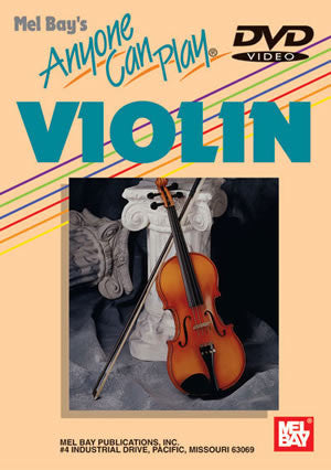 Anyone Can Play Violin DVD