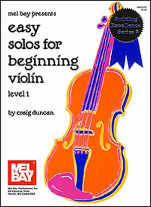 Easy Solos for Beginning Violin Book