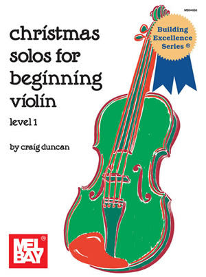 Christmas Solos for Beginning Violin Book