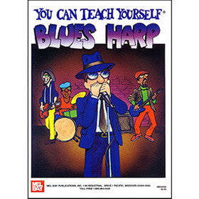 You Can Teach Yourself Blues Harp Book CD Set