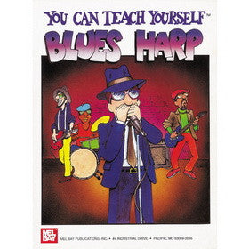 Your Can Teach Yourself Blues Harp Book DVD Package