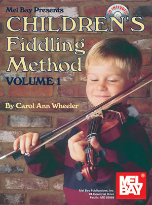 Childrens Fiddling Method Volume 1 Book Cd Package