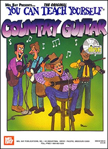 You Can Teach Yourself Country Guitar Book CD Set