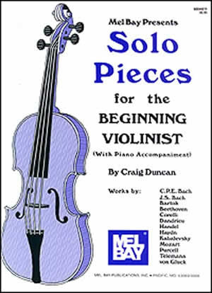 Solo Pieces for the Beginning Violinist Book