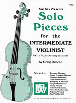 Solo Pieces for the Intermediate Violinist Book