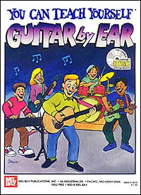 You Can Teach Yourself Guitar by Ear Book CD Set